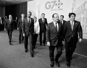 � ������ ������� ������ G7 ���������� � �������������
