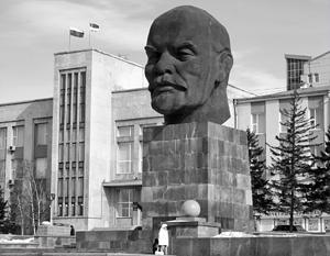 Самая большая голова Ленина находится в Улан-Удэ