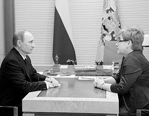 «У российской политики появляется женское лицо»