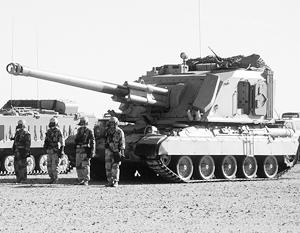 На вооружении саудовской армии стоит в том числе европейская бронетехника