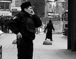 Задержание няни у станции метро походило на боевик