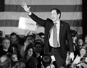 Рубио впервые одержал победу на республиканских праймериз в США