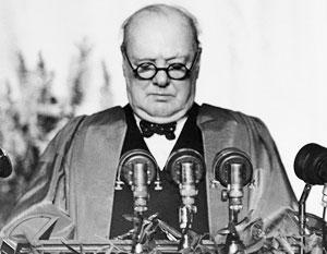 В своей ответной статье Сталин сравнил Черчилля с Гитлером