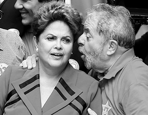 Два президента – нынешний Дилма Русеф и бывший Лула да Силва