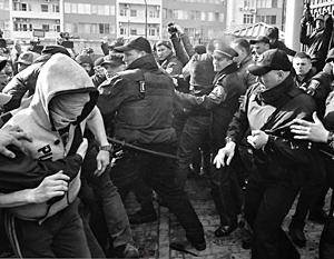 В Одессе радикалы пытались придать своей акции «шумовой и психологический эффект»