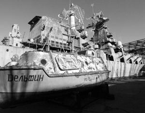 В украинских ВМС боеспособны менее десятка кораблей и судов, остальные больше походят на металлолом