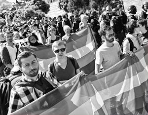 Чтобы гей-пары на Украине наконец-то смогли перейти на легальное положение, депутатам Верховной рады придется «наступить себе на горло»
