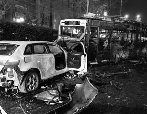 Террористы выбрали для взрыва час пик и людное место в самом центре Анкары, близ правительственных зданий