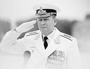 Виктор Чирков уходит с поста главкома ВМФ спустя четыре года работы