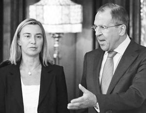 МИД РФ неоднократно призывал Брюссель рассматривать друг друга как равноправных партнеров