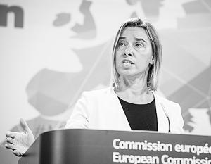 Могерини призвала страны ООН ввести санкции против России по примеру стран ЕС
