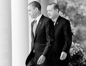 Позиции США и Турции уже не так совпадают, как прежде, и Эрдоган уже не вправе рассчитывать на теплое общение с Обамой