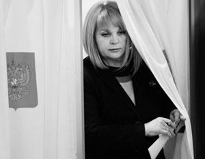 В Центризбиркоме Памфилова будет бороться за права избирателей