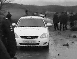 Дагестанская полиция ведет расследование после того, как один из сотрудников МВД погиб при взрыве во время погони за преступниками