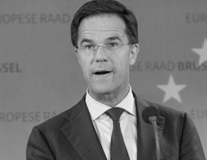 Премьер Нидерландов выступил против вступления Украины в ЕС
