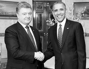 Администрация Порошенко выдумала встречу с Бараком Обамой