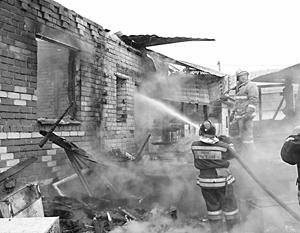 Пожар в поселке Плеханово прямо связан с «газовым бунтом» двухнедельной давности