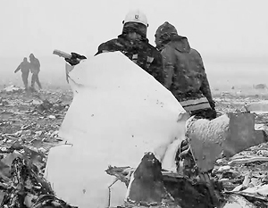 Окончательные выводы о причинах крушения самолета над Ростовом пока не сделаны