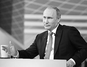 Владимир Путин считает, что любой президент должен был хорошо учиться в юные годы