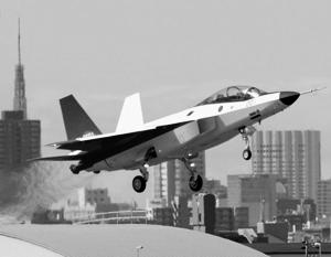 Японский истребитель пятого поколения совершил первый полет (видео)
