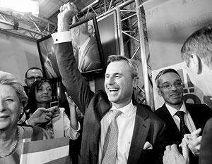 Норберт Хофер выиграл первый тур президентских выборов