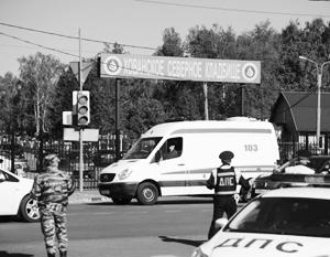 Полиция продолжает задержания участников драки на Хованском кладбище