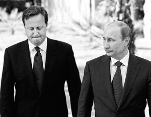 Дэвид Кэмерон, ныне агитирующий за невыход из Евросоюза, уверяет, что Владимир Путин будет счастлив, если Британия покинет ЕС