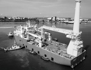 Газпром доказывает, что на каждое санкционное действие США есть противодействие (на фото – судно Jascon 18)