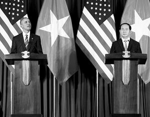 Американский и вьетнамский лидеры сделали очередной шаг к нормализации двусторонних отношений