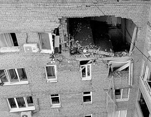 При взрыве обрушилось потолочное перекрытие между квартирами двух этажей