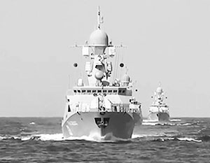 Российские боевые корабли прошли в окрестностях острова Кубасима недалеко от архипелага Сенкаку