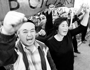 Пропагандистская работа США в Центральной Азии уже принесла свои плоды в Киргизии, пережившей два переворота