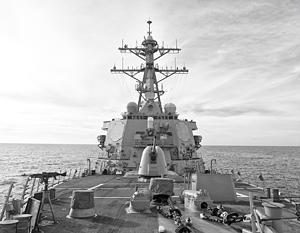 Москва пообещала ответ на заход кораблей США в Черное море