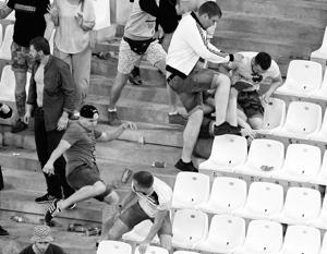 Безусловная доля вины за случившееся лежит на организаторах матча