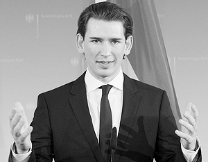 «За каждым шагом на пути выполнения минских договоренностей будет следовать постепенное снятие санкций», – предложил глава МИД Австрии Себастьян Курц