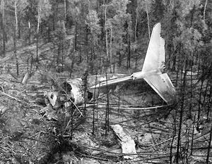 От Ил-76 остался только хвост