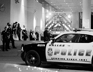 Очередной случай стрельбы на межрасовой почве произошел в Далласе