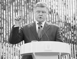 «НАТО могло бы извлечь пользу для общественной безопасности из опыта Украины», – утверждает Порошенко