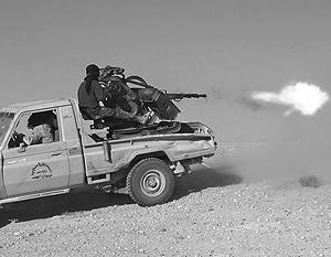 Сейчас тактика джихадистов базируется на атаках смертников и «техничек»