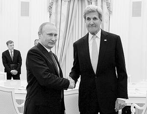Джон Керри прибыл в Москву с двухдневным визитом