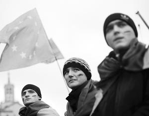 Надежда на вступление в ЕС помогала украинцам терпеть нынешние проблемы