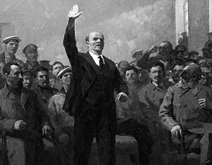 Репродукция картины художника Александра Тимофеевича Даниличева «Есть такая партия»