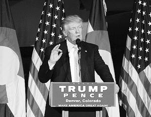 Трамп может вернуть США реальный, а не номинальный статус сверхдержавы