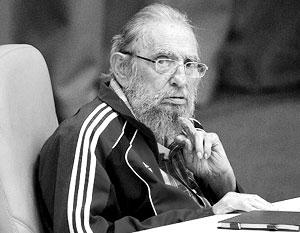 Последний раз Фидель Кастро выступал на съезде кубинской компартии в апреле этого года