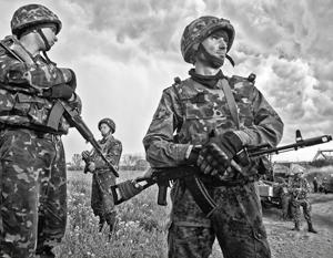 Общая численность армии в Донбассе достигла угрожающих чисел – более 100 тысяч человек