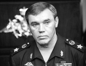СМИ сообщили о предстоящем визите начальника Генштаба России в Турцию