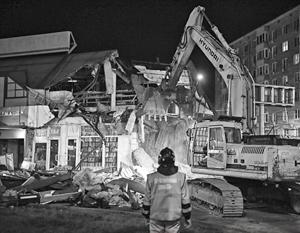В ночь на 29 августа в Москве снесли 29 строений
