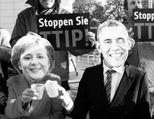 У Обамы и Меркель не осталось шансов заключить Трансатлантическое партнерство