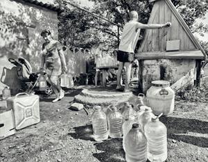 Наиболее острая фаза водяного кризиса пришлась на аномально жаркое лето 2014-го
