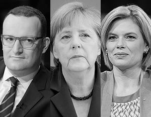 Еще недавно больше шансов сменить Меркель было у Клёкнер (справа), теперь у Шпана (слева)